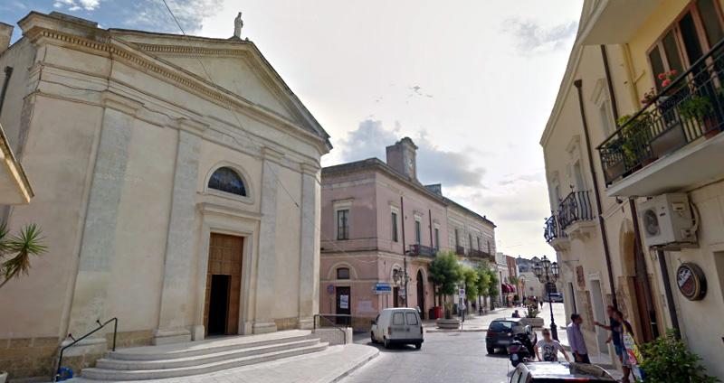Cartina Puglia Cellino San Marco.Cellino San Marco